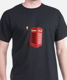 Red Phone Booth T-Shirt