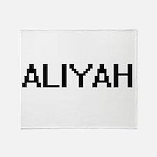 Aliyah Digital Name Throw Blanket