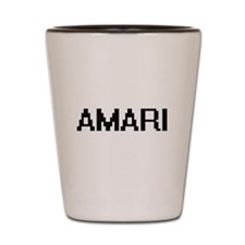 Amari Digital Name Shot Glass