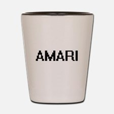 Amari Digital Name Shot Glass