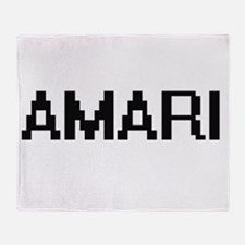 Amari Digital Name Throw Blanket