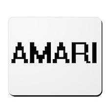Amari Digital Name Mousepad