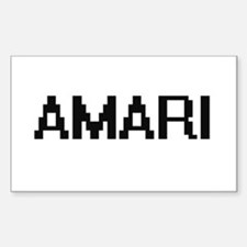 Amari Digital Name Decal