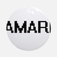 Amari Digital Name Ornament (Round)