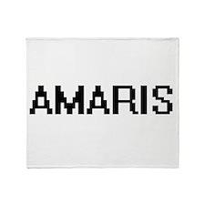 Amaris Digital Name Throw Blanket