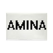 Amina Digital Name Magnets