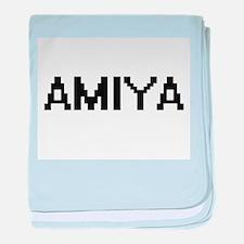 Amiya Digital Name baby blanket