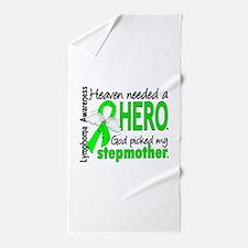 Lymphoma Heaven Needed Hero Beach Towel