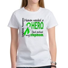 Lymphoma Heaven Needed Hero Tee