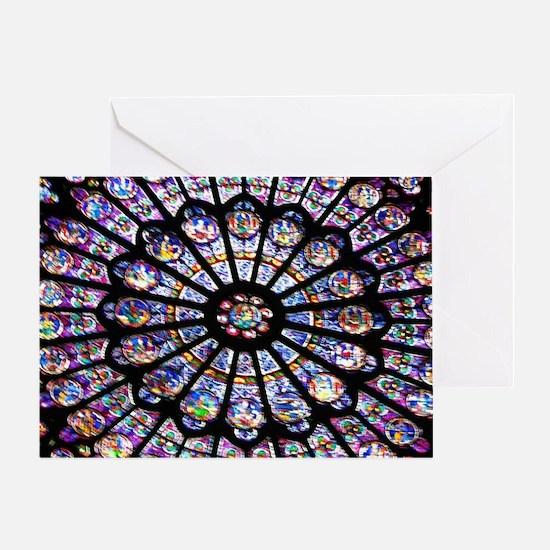 Unique Paris rose Greeting Card