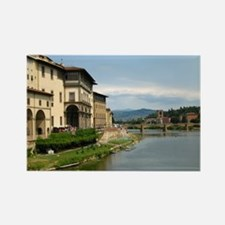 Funny Arno river Rectangle Magnet