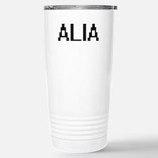 Alia Digital Name Travel Mug