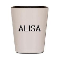 Alisa Digital Name Shot Glass