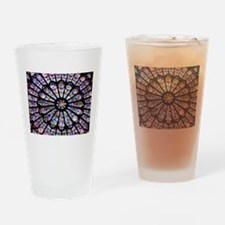 Cute Stained glass Drinking Glass