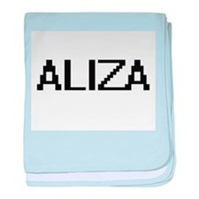 Aliza Digital Name baby blanket