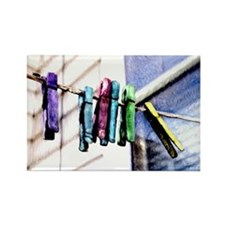 Rectangle Magnet/ cloths line
