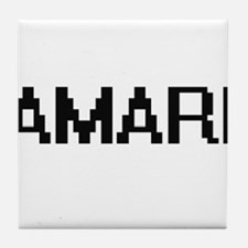 Amari Digital Name Tile Coaster
