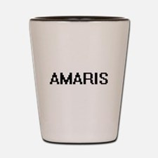 Amaris Digital Name Shot Glass