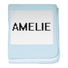 Amelie Digital Name baby blanket