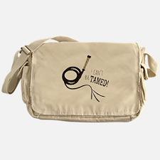 Cant Be Tamed Messenger Bag