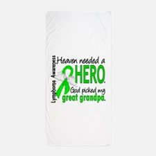Lymphoma Heaven Needed Hero Beach Towel