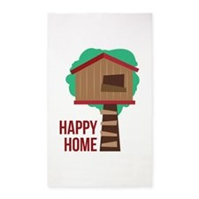 Happy Home Area Rug