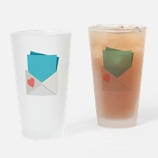 Love Letter Drinking Glass