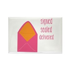 Signed Sealed Delivered Magnets