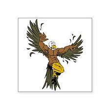 Eagle Mascot Sticker