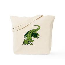 Mean Alligator Tote Bag