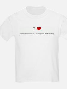 I Love i miss u jasmin and i  T-Shirt