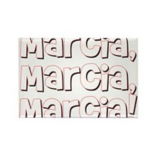 Marcia! Rectangle Magnet