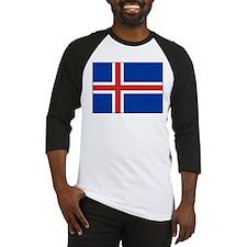 Iceland Flag Baseball Jersey