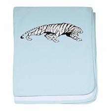 Tiger baby blanket