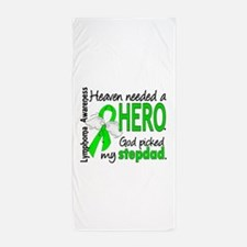 Lymphoma HeavenNeededHero1 Beach Towel