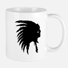 Native American Silhouette Mugs