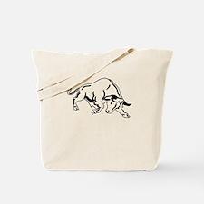 Charging Bull Tote Bag