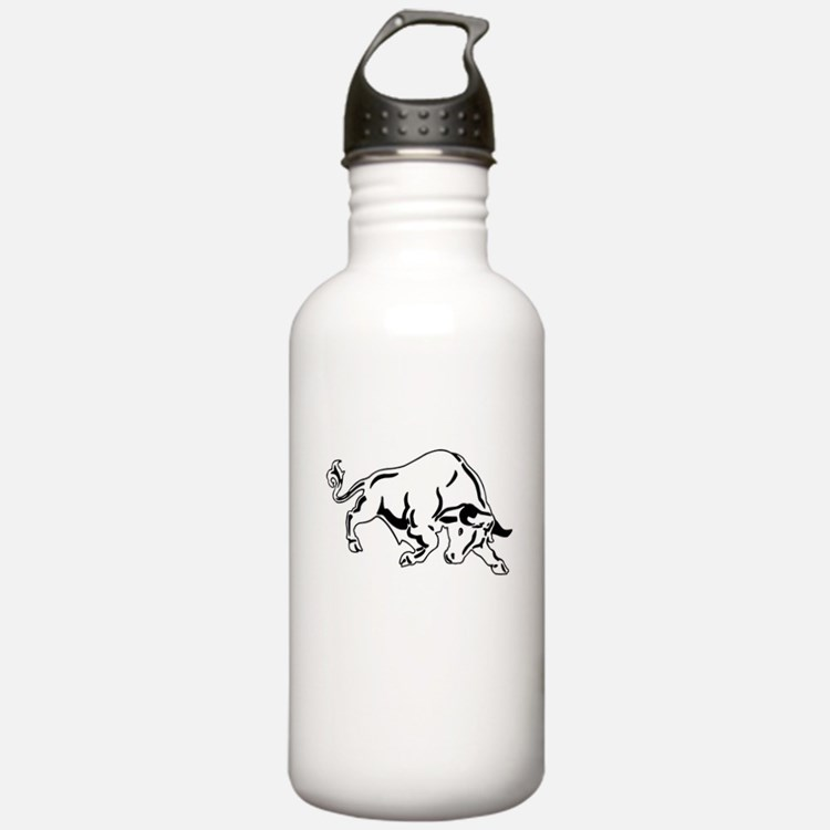 Charging Bull Water Bottle