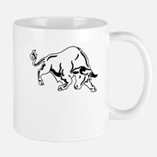 Charging Bull Mugs