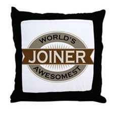 Awesome Joiner Throw Pillow