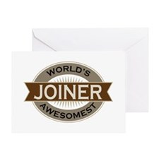 Awesome Joiner Greeting Card