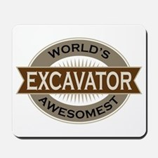 Excavator (Awesome) Mousepad