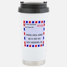Retired Postal Worker Travel Mug