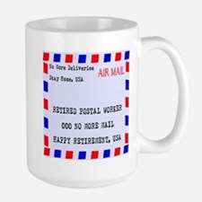 Retired Postal Worker Mugs