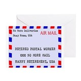 Letter carrier retirement Stationery