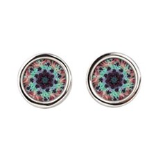 Thing Of Beauty Round Cufflinks