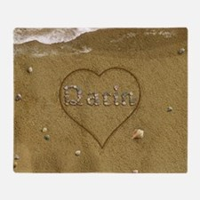 Darin Beach Love Throw Blanket