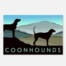 Blue Hills Coonhounds Postcards (Package of 8)