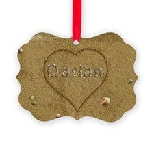 Darian Beach Love Ornament