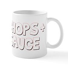 Pork Chops and Applesauce Small Mug